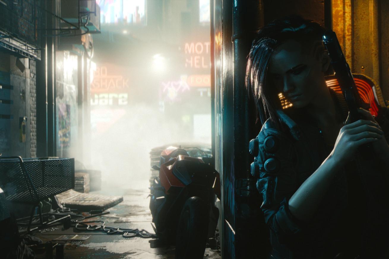 Cyberpunk 2077 es parte RPG, parte disparador, parte caos estilo GTA
