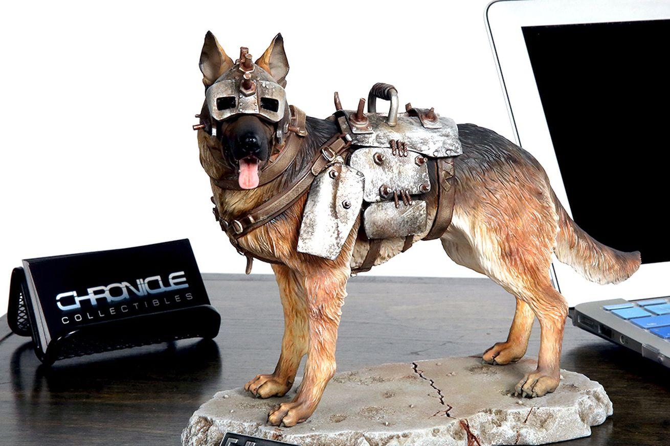 Esta estatua de Fallout 4 Dogmeat se ve increíble