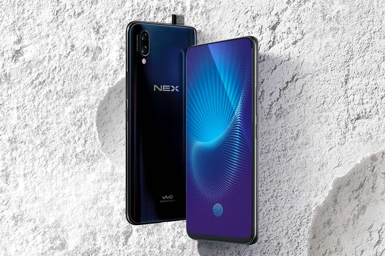 Vivo anuncia el teléfono Nex sin biseles, sin muesca y una cámara emergente con autofoto