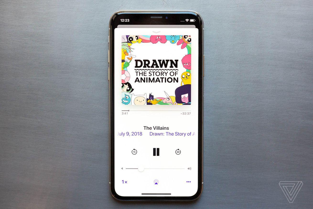Drawn es una miniserie de podcasts que explora cómo se crean tus dibujos animados favoritos