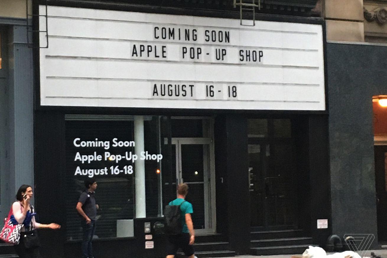 No se deje engañar por la nueva tienda pop-up 'Apple' de Nueva York