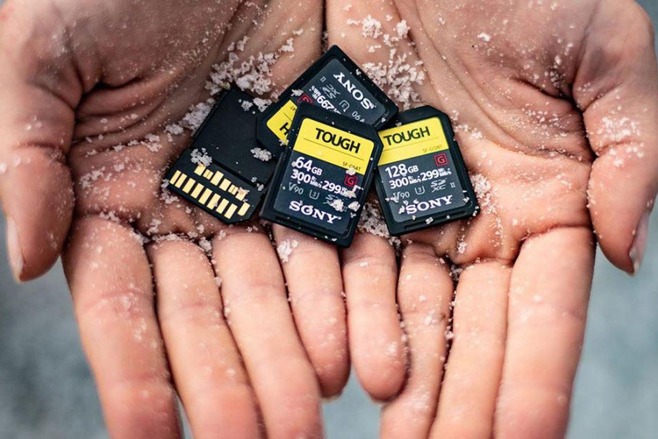 Sony inventó un nombre realmente ingenioso para su nueva y resistente serie de tarjetas SD