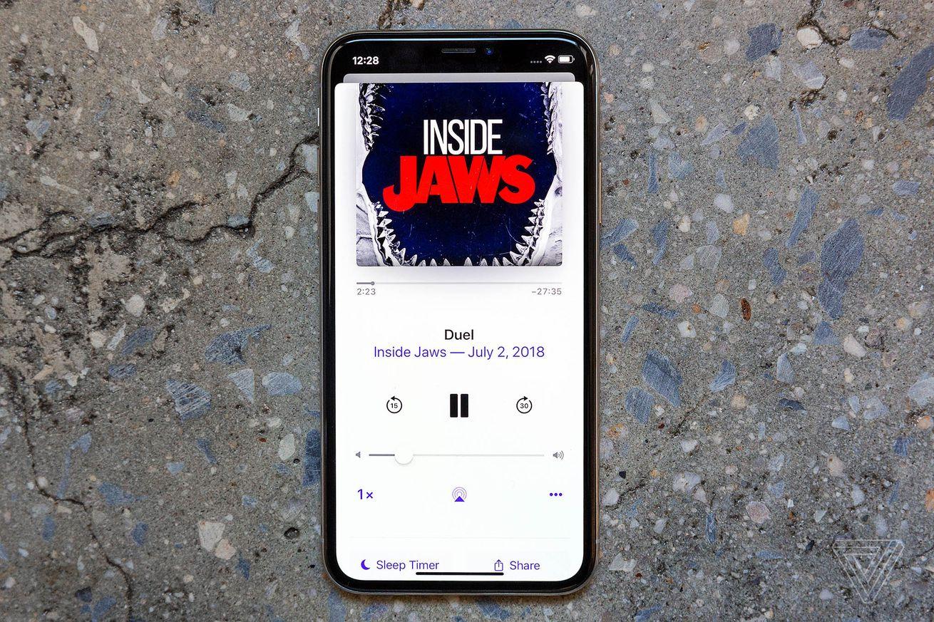 Inside Jaws es una biopic de Steven Spielberg en forma de podcast