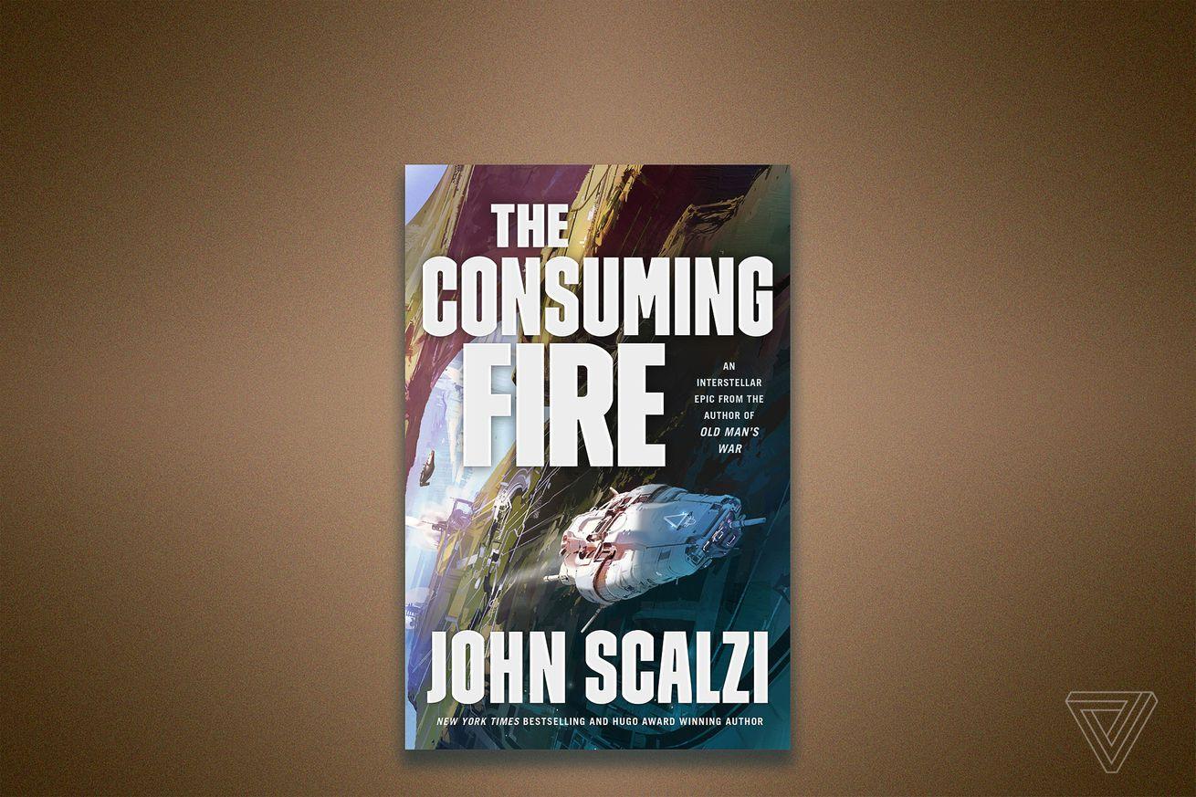 Escuche un extracto del próximo libro de John Scalzi, The Consuming Fire