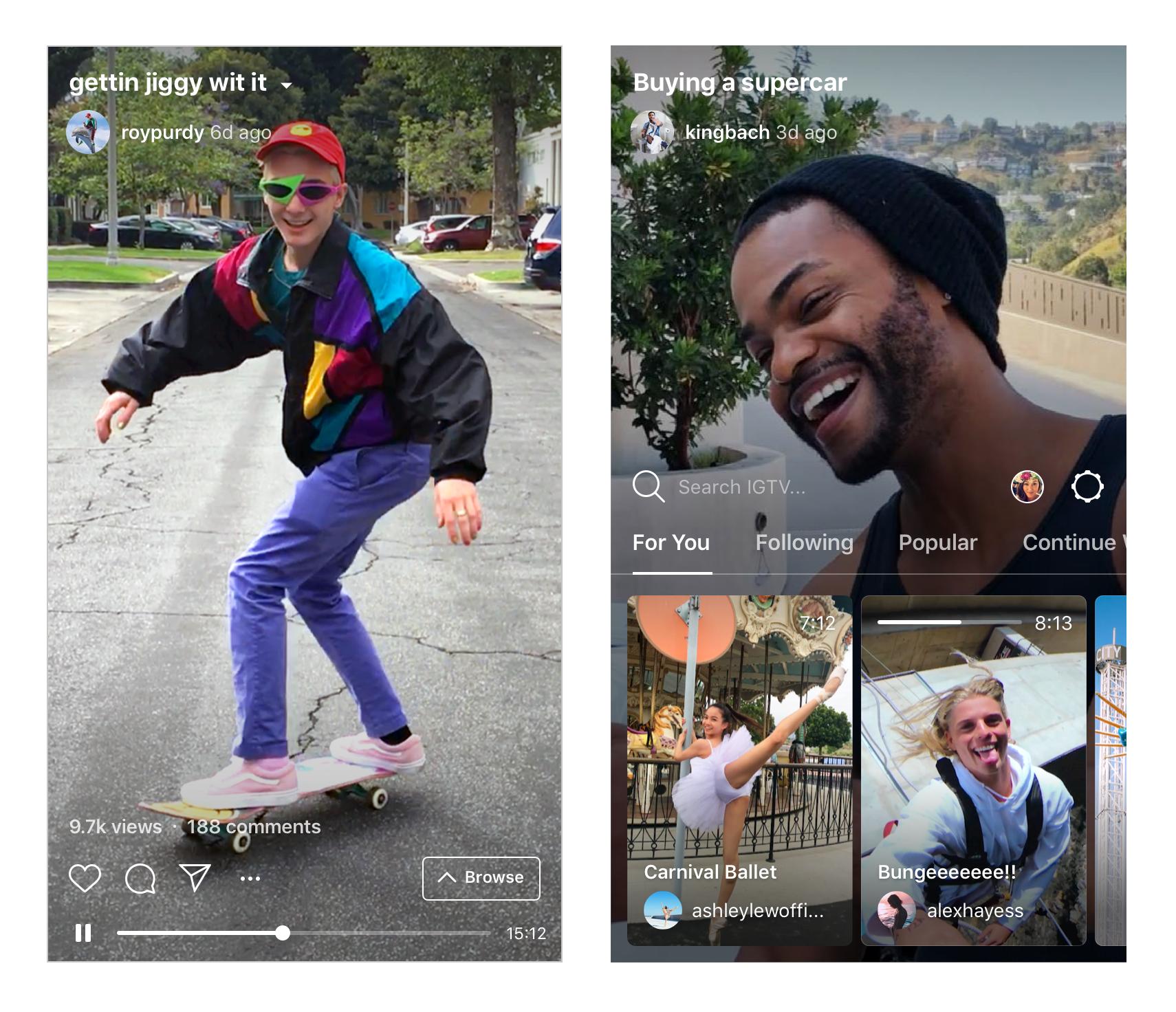 Todo lo que necesita saber sobre IGTV, la nueva aplicación de video Longform de Instagram