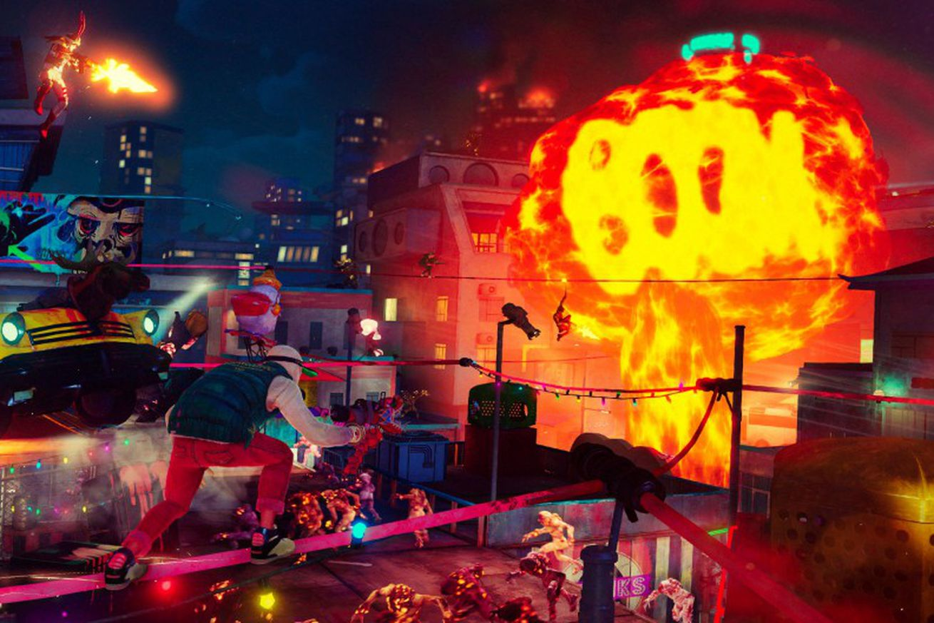 El over-the-top shooter Sunset Overdrive ya está disponible para PC