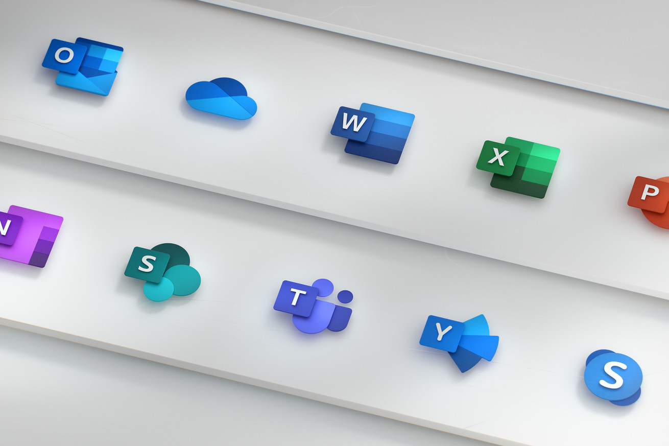Los nuevos íconos de Office de Microsoft son parte de una revisión de diseño más grande