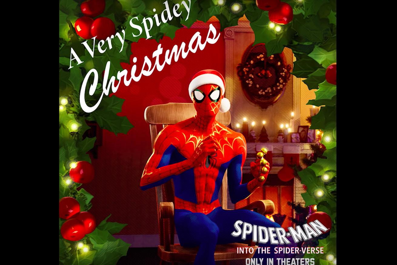 En el álbum navideño de Spider-Verse es real y se puede transmitir.