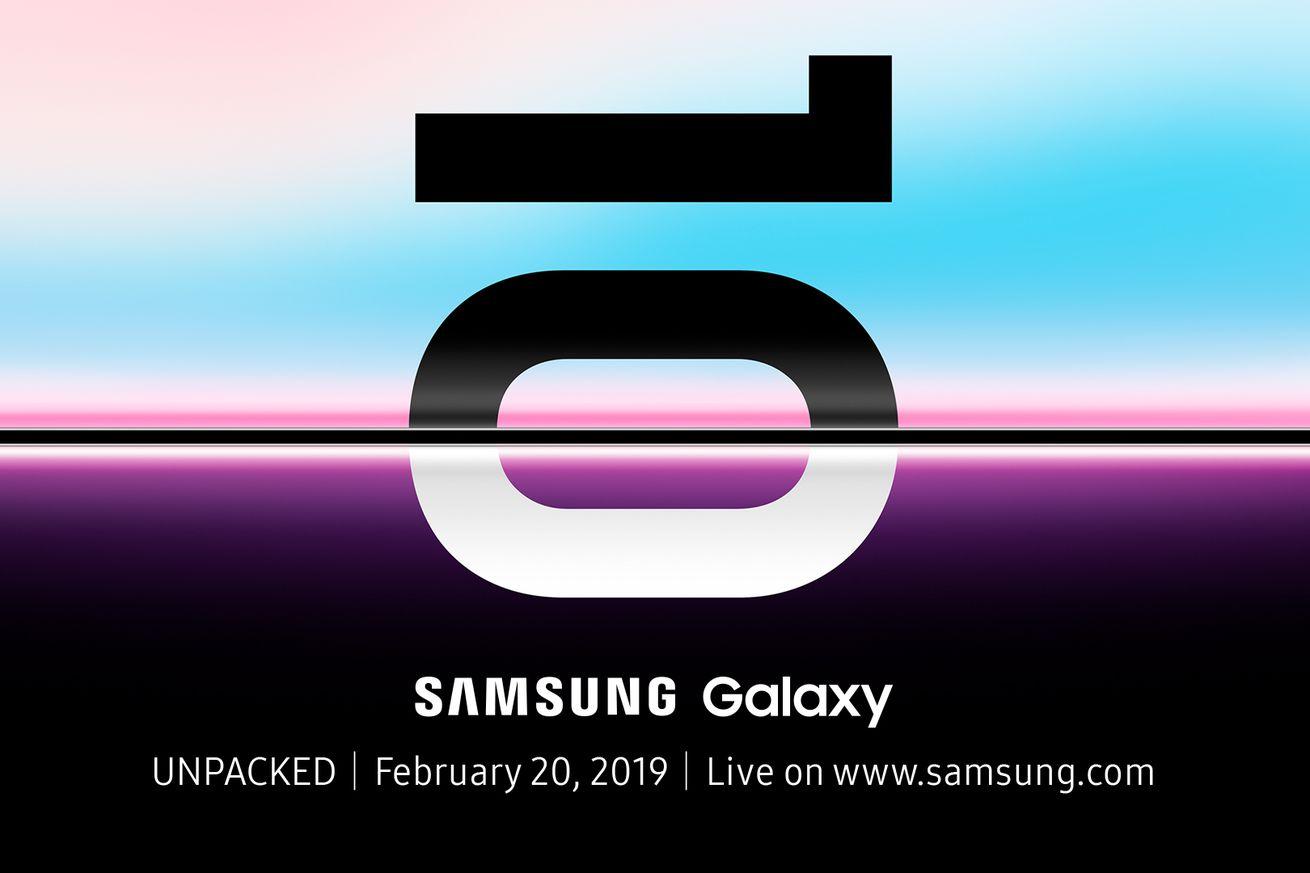 Samsung Galaxy S10: todas las noticias y rumores sobre el evento Unpacked