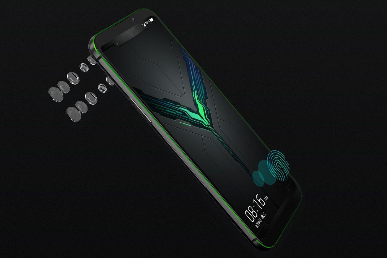 Xiaomi anuncia su teléfono para juegos Black Shark 2 con una pantalla AMOLED sensible a la presión